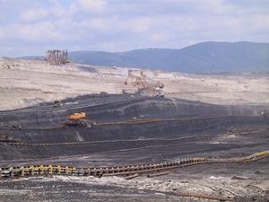 Uhelná sloj na Lomu Bílina dosahuje až 30 m